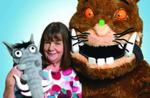 Edinburgh Review: The Gruffalo, The Witch and the Warthog with Julia Donaldson at Underbelly