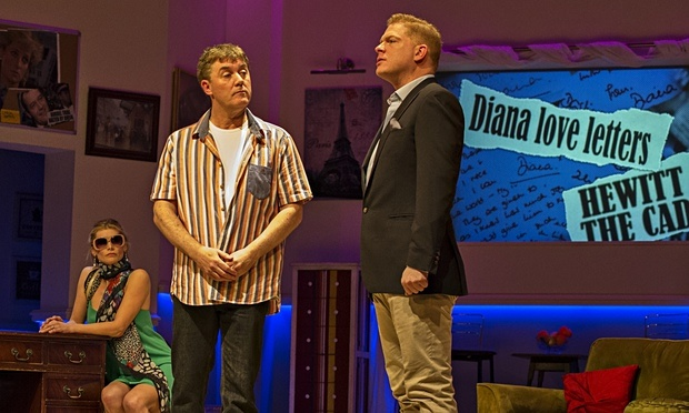 'Truth, Lies, Diana' on stage at the Charing Cross Theatre. Photo: Donna Richens