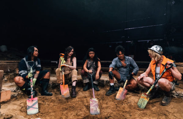 Review: We Dig at Ovalhouse