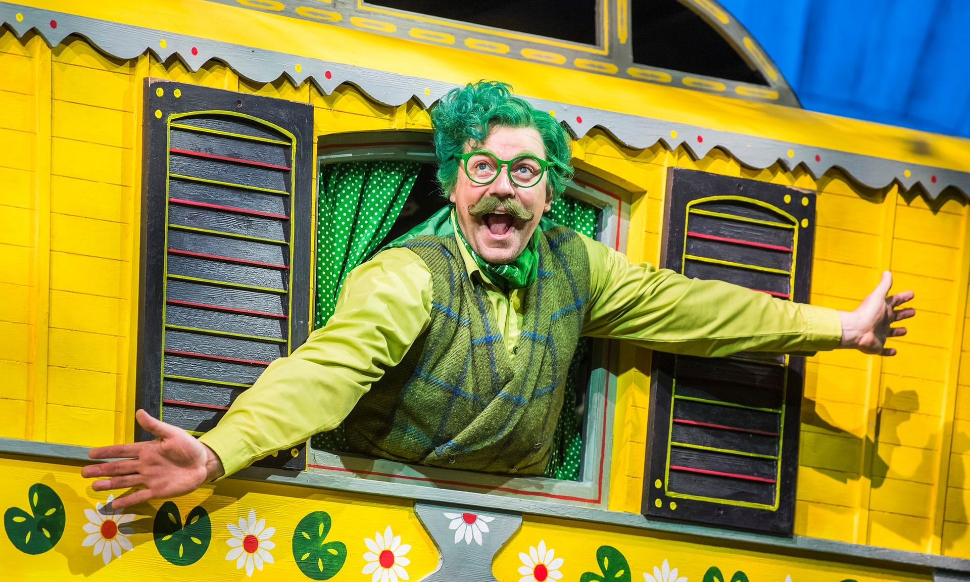 The Wind in the Willows at the London Palladium.