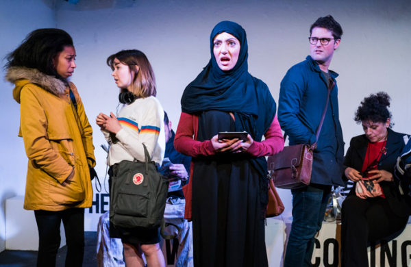 Review: The Words Are Coming Now at Theatre503