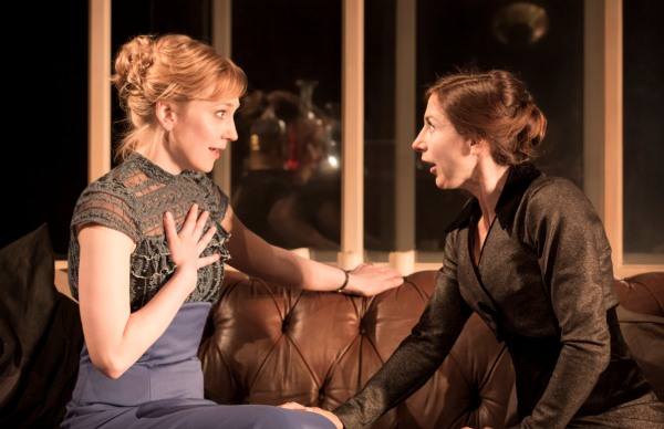 Hattie Morahan and Susannah Wise in A Doll's House. Photo: Johan Persson