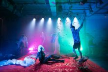 And the Rest of Me Floats at Bush Theatre. Photo: Helen Murray.
