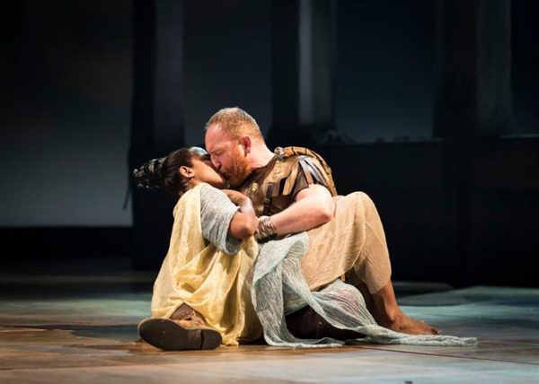 Antony and Cleopatra at the Royal Shakespeare Theatre. Photo: Helen Maybanks.