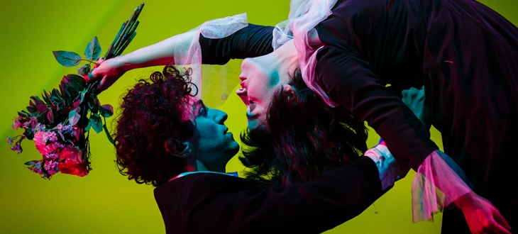 The Flying Lovers of Vitebsk at Traverse Theatre, as part of the Edinburgh Fringe 2017.