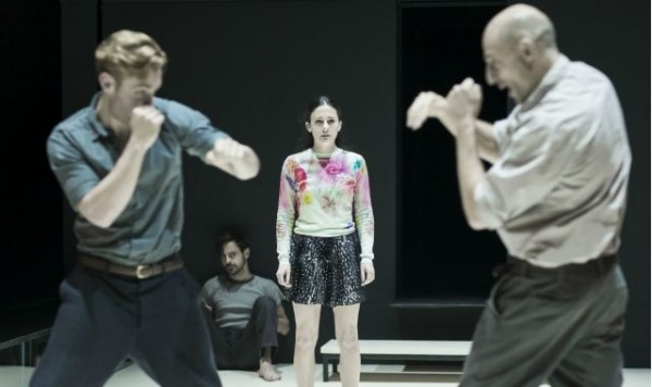A View from the Bridge at the Young Vic. Photos by Jan Versweyveld