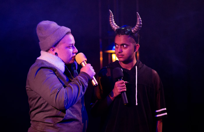 Bullish, Camden People's Theatre. Photo: Ben Millar Cole.