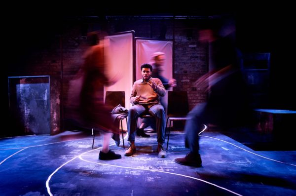 Hunger at Arcola Theatre. Photo credit: Alex Brenner.
