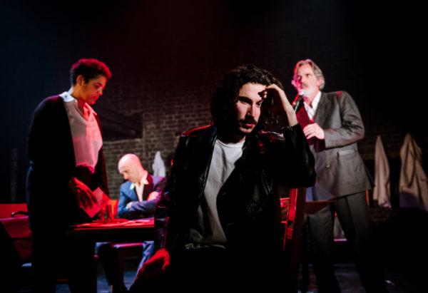 The Plague at the Arcola Theatre. Photo: Alex Brenner.
