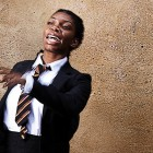Michaela Coel in Chewing Gum Dreams.