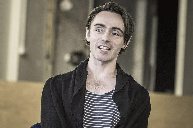 David Dawson in rehearsals for The Dazzle