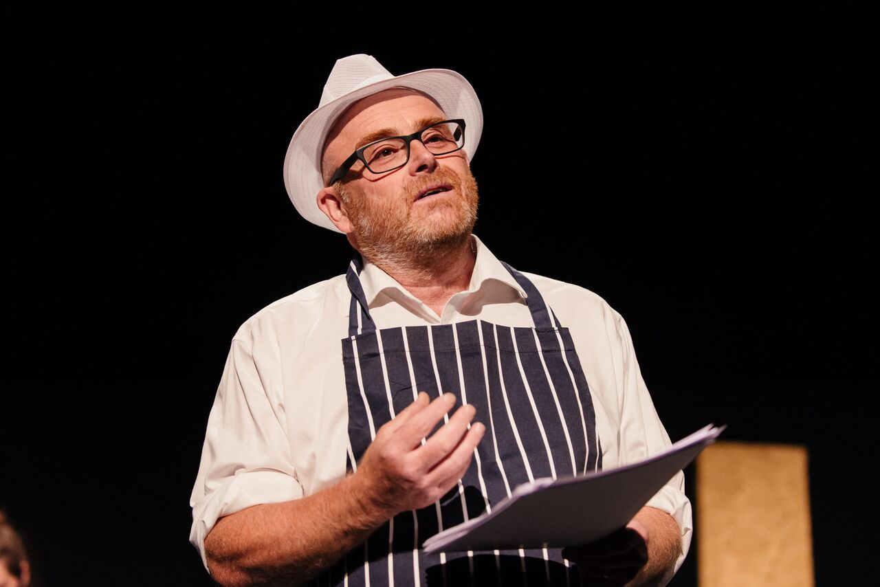 Vic Llewellyn in A Little Death at Bristol Old Vic. Photo: Jack Offord