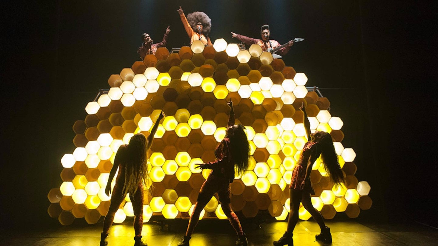 Hot Brown Honey performed at Assembly at Edinburgh Fringe 2016