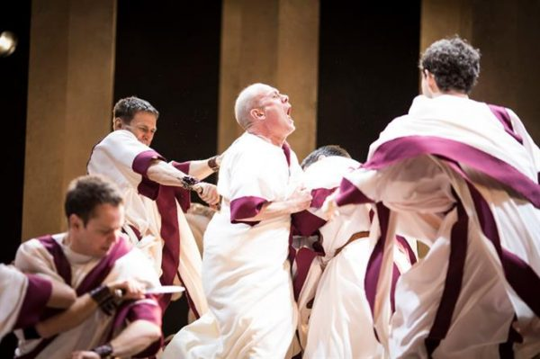 Julius Caesar at the Royal Shakespeare Theatre. Photo: Helen Maybanks.