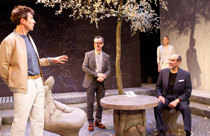 The Mentor at the Vaudeville Theatre. Photo: Simon Annand.