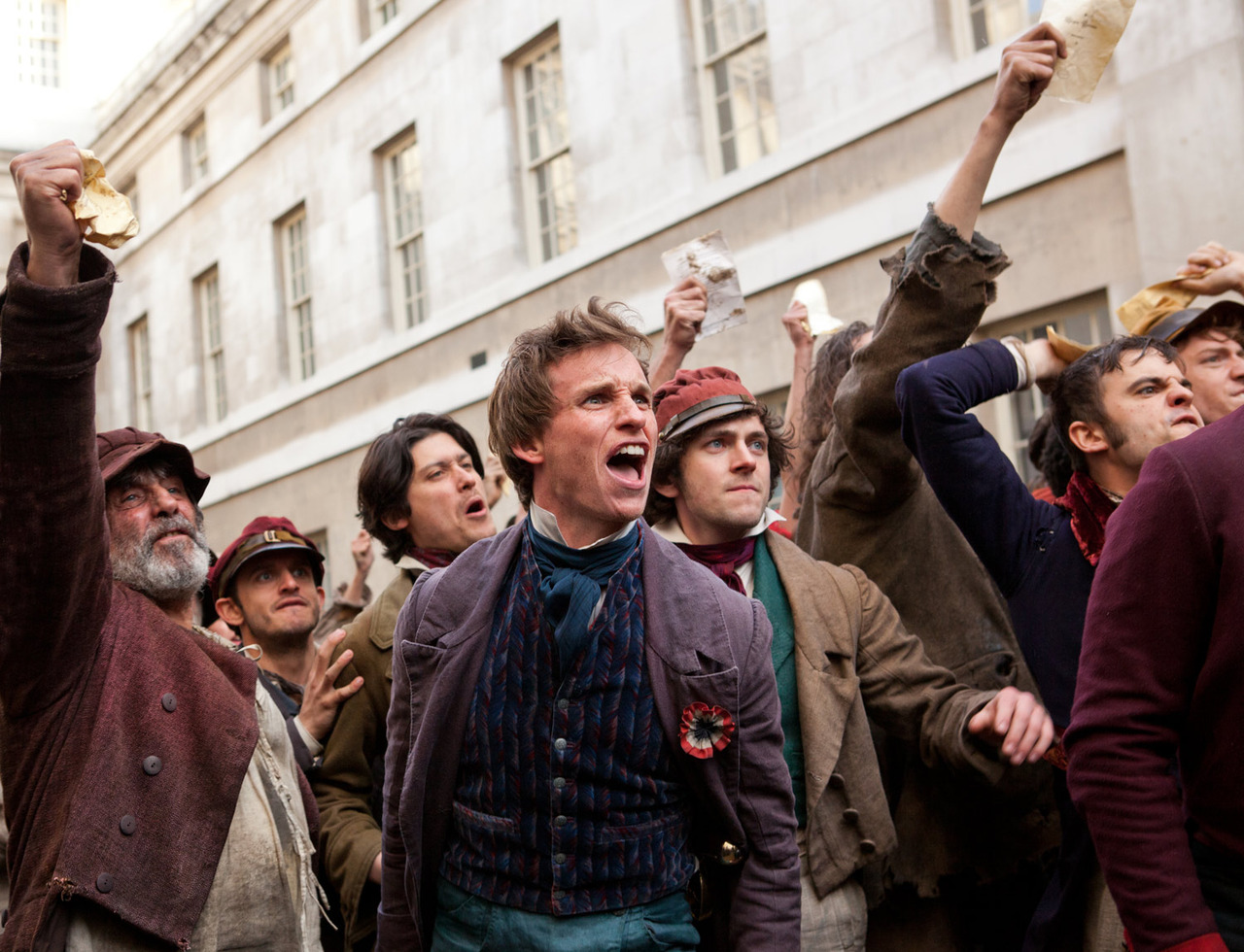 A still from the 2012 film, Les Miserables.