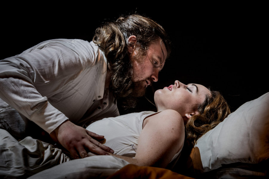 The Rape of Lucretia, Arcola Theatre. Photo: Robert Workman.