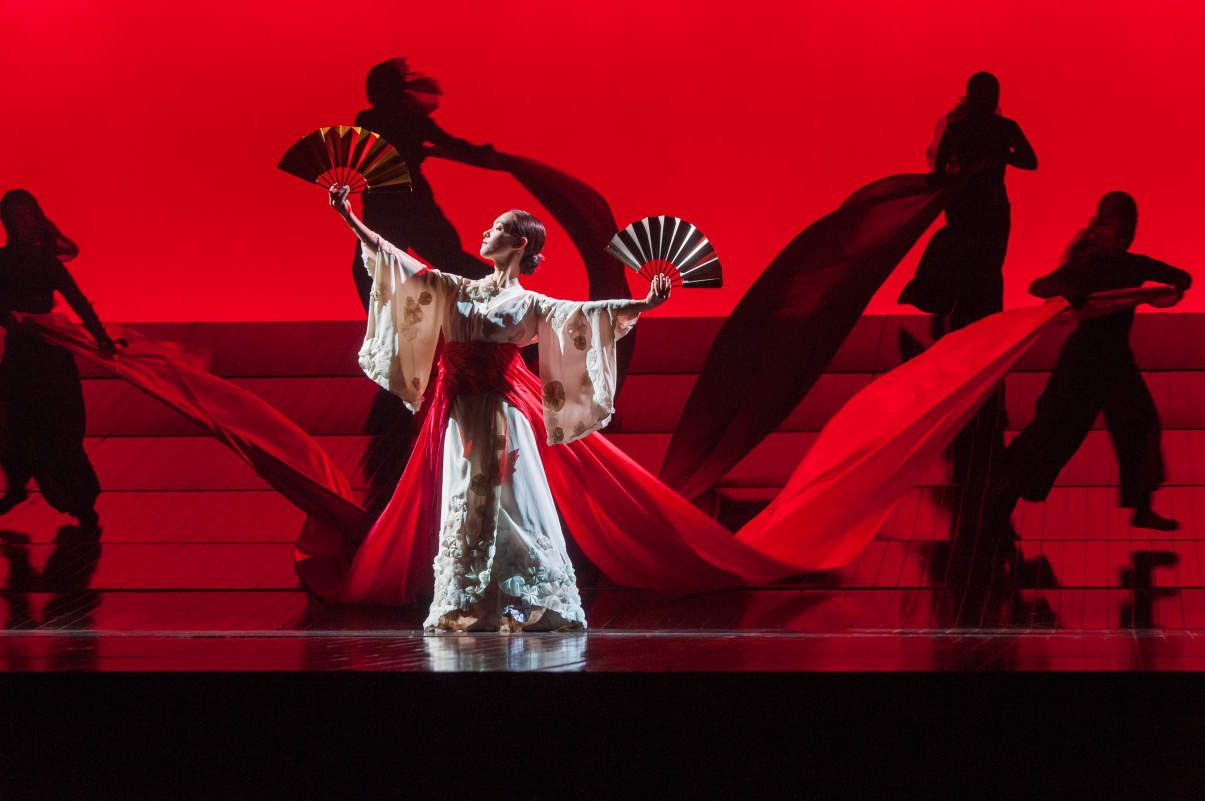 the impact of japanese art of kabuki on puccinis opera madame butterfly