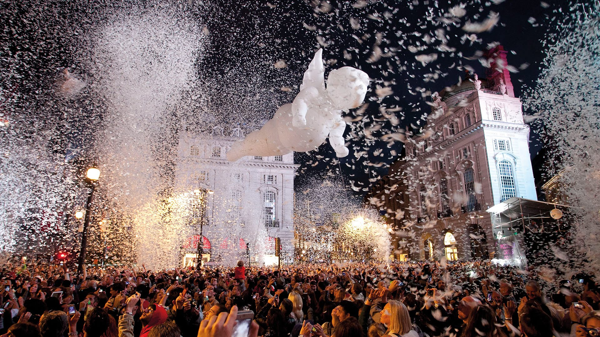 'Place des Anges', an open air spectacle which will come to Hull this year.