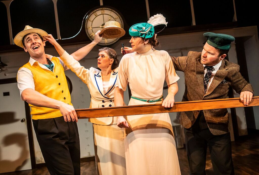 Crimes on the Nile at The Ustinov, Bath. Photo: Pamela Raith