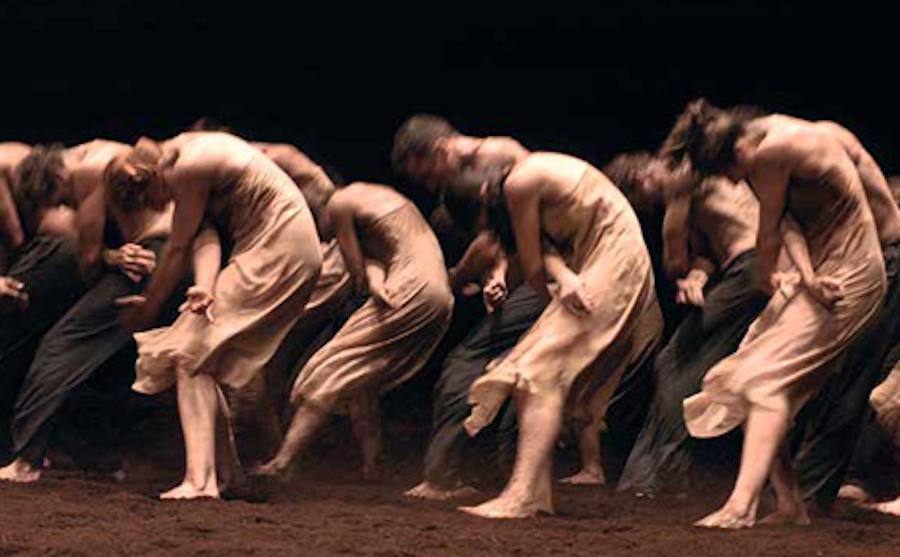 Pina Bausch's The Rite of Spring at Sadler's Wells.