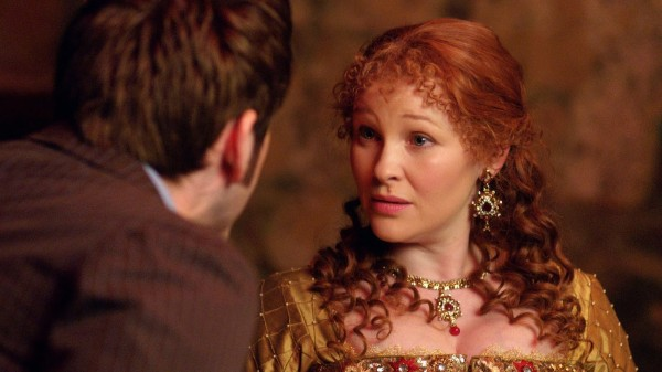 Joanna Page as Elizabeth I in The Day of the Doctor