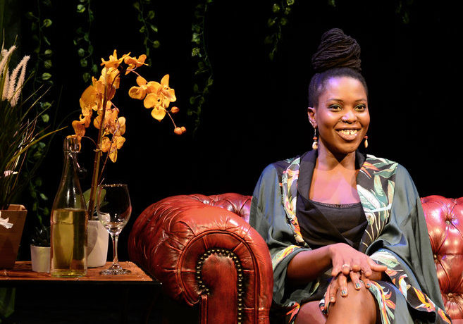 Chanje Kunda in Plant Fetish at HOME, Manchester. Photo: Silk Photography.