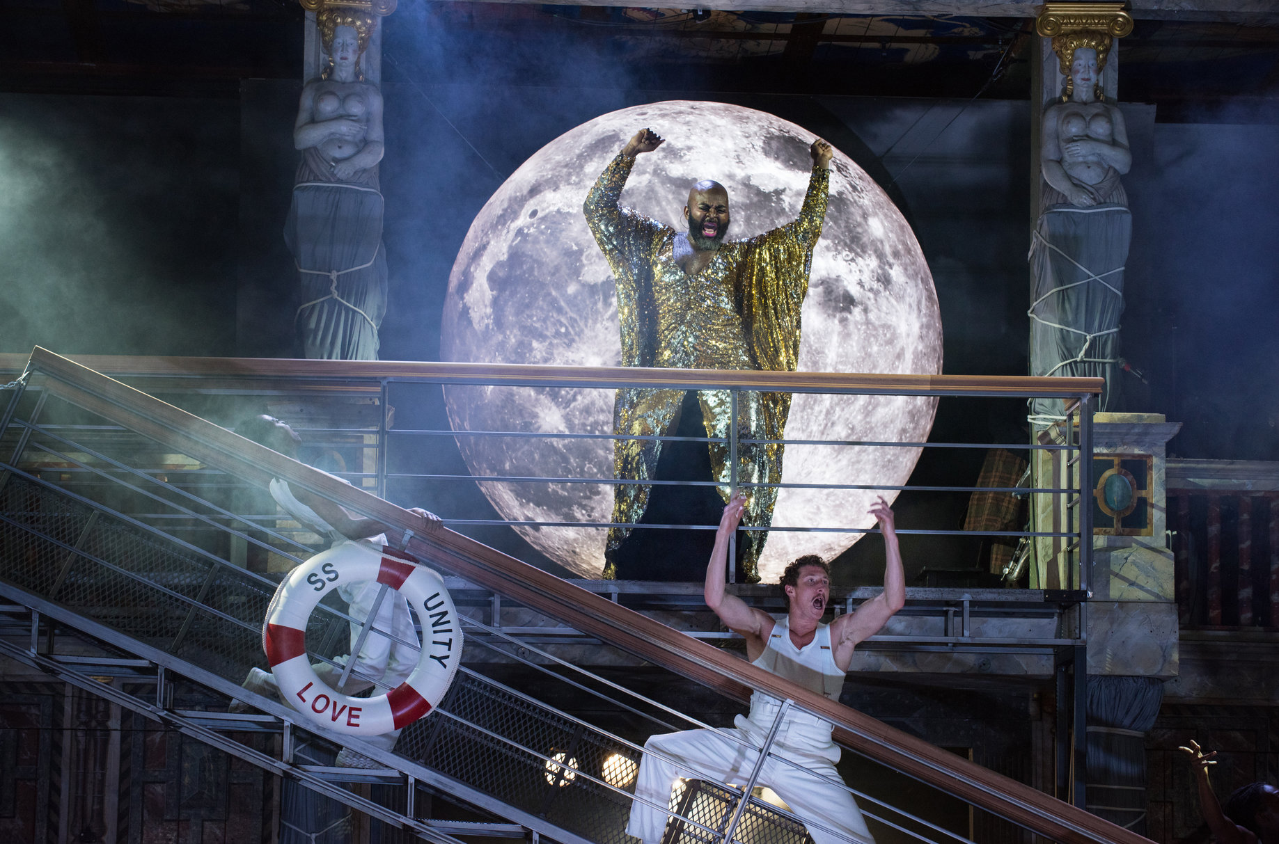 'Twelfth Night' at Shakespeare's Globe. Photo: Hugo Glendinning