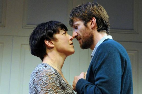 Olivia Williams and Mark Bazeley in Trevor Nunn's Scenes from a Marriage. Photo: Alastair Muir
