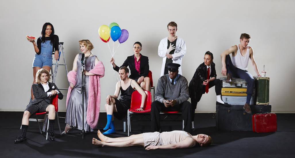 The Secret Theatre company, which performed at the Lyric Hammersmith.