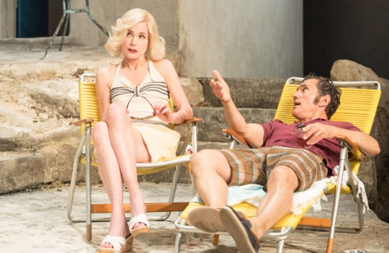 Review: Sunset at the Villa Thalia at the National Theatre