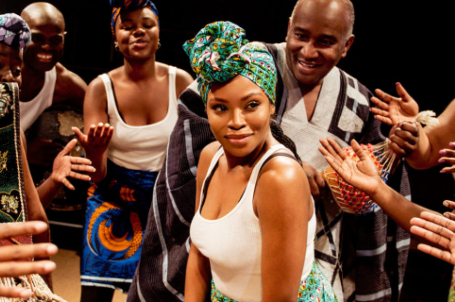 The Secret Lives of Baba Segi's Wives, Arcola Theatre. Photo: Idil Sukan.