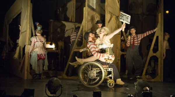 The Threepenny Opera at the National Theatre. Photo: Richard Hubert Smith.