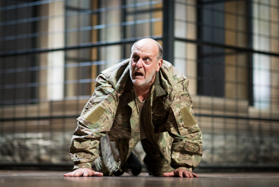 Titus Andronicus, Barbican. Photo: Helen Maybanks.