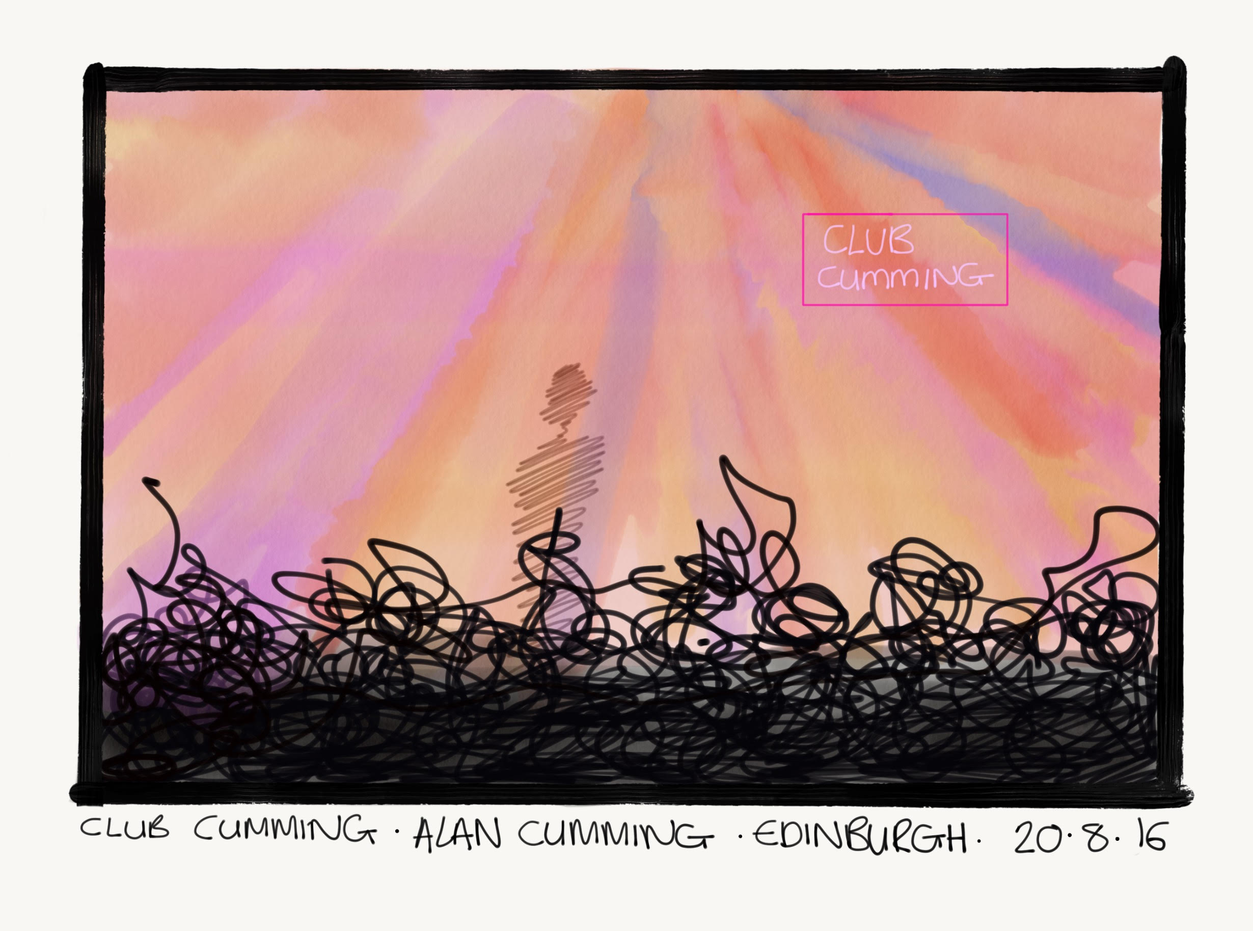 Club Cumming, by Alan Cumming