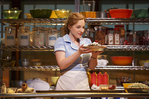 Waitress at the Brooks Atkinson Theatre. Photo: Joan Marcus.