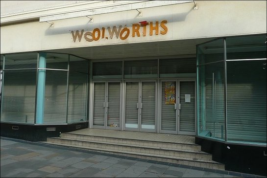The old Woolworths store.