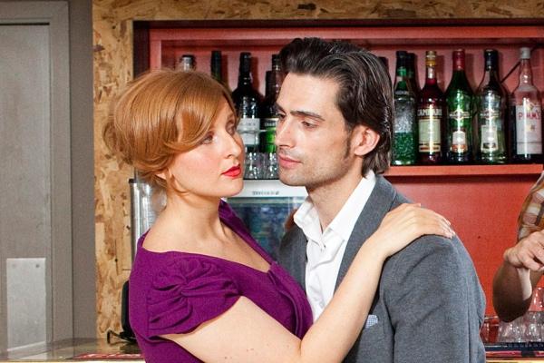 Amy Booth-Steel and Simon Thomas