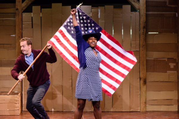Edinburgh Review: Underground Railroad Game at Traverse Theatre